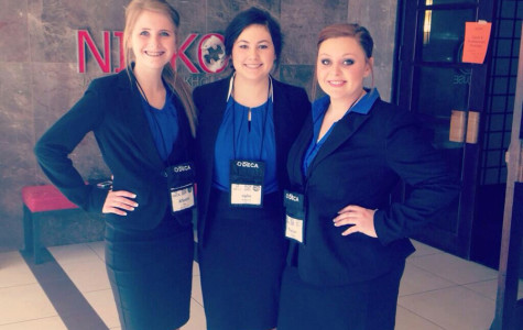 DECA students place at state