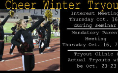 Junior varsity cheer tryouts to be held this week