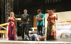 """Once On This Island"" musical rehearsal – Final weeks (video)"