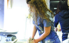 Ceramics sparks interest in students