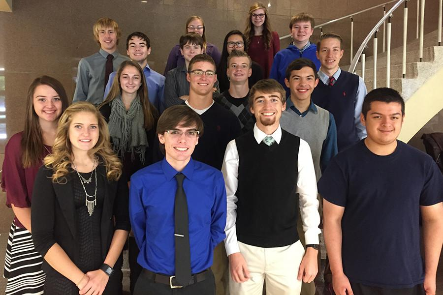 Math relay team takes second on Nov. 12