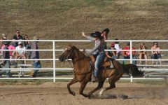 Junior Kelli Buxton prepares to crown new Rodeo Queen