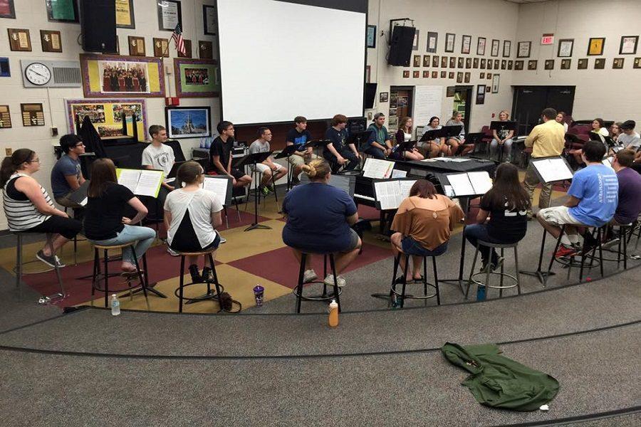 Chamber Singers jumpstart rehearsals successful