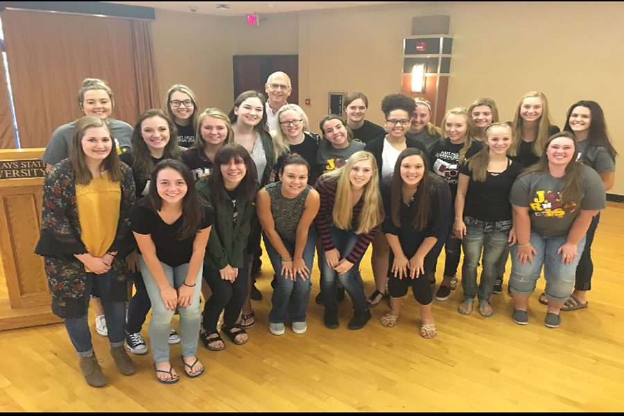 Journalism students attend Fall Conference
