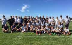 Alumni return to face current soccer team