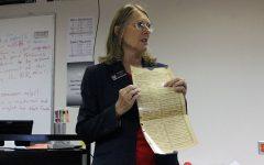 AP Government class invites Sue Boldra to speak