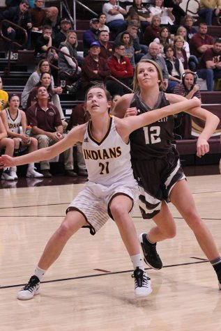 Lady Indian basketball takes third place in Hays City Shootout