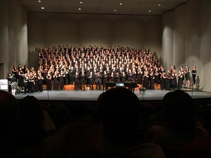 KMEA+All-State+Choir+performing.+