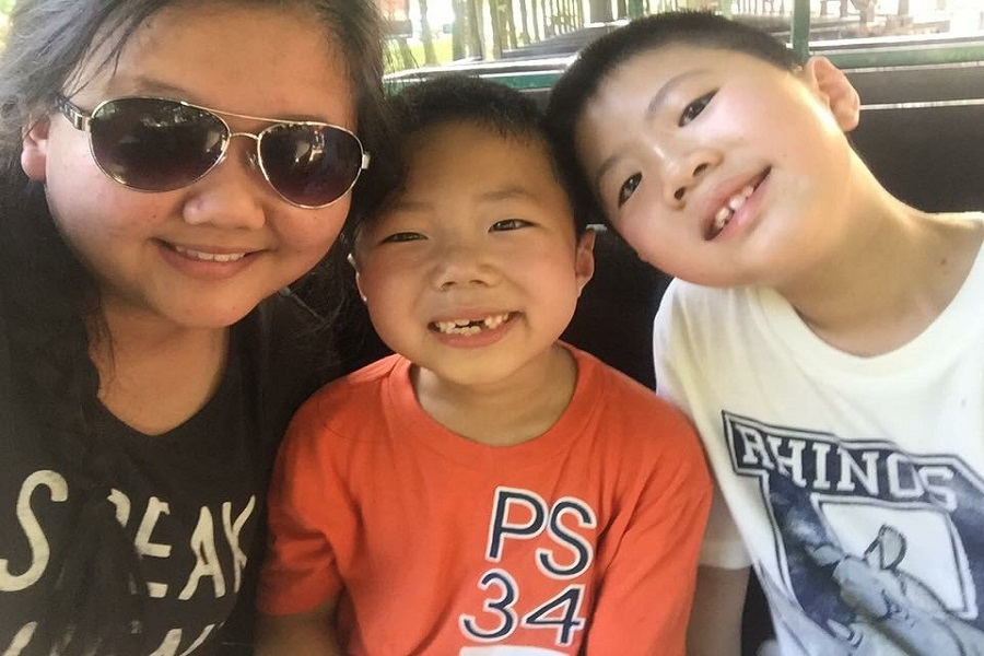 Junior Lucy Lin and her brothers, Kent and Kevin, go out of their way to help their parents with language barriers.