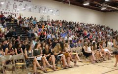 Students receive scholarships at Academic and Athletic Awards Night