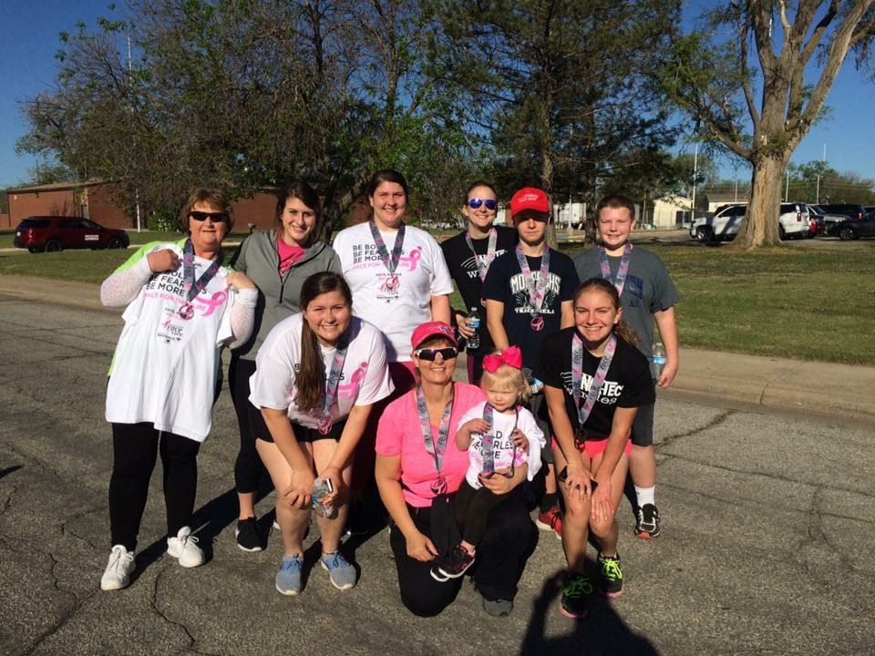 Sophomore+Shyann+Schumacher+walked+with+her+family+on+Saturday%2C+May+6.+There+were+approximately+300+participants+in+the+event.