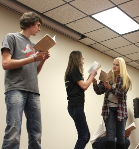 Spring Play Cast List Posted
