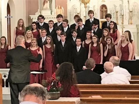 Chamber Singers performed at Cathedral Concert in Victoria