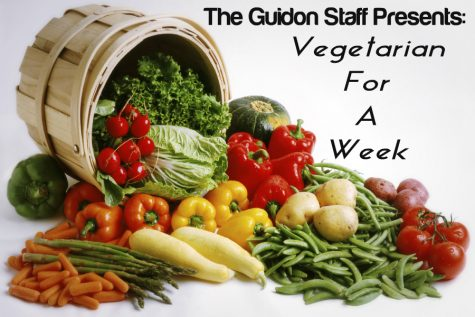 Vegetarian for a week, video blog