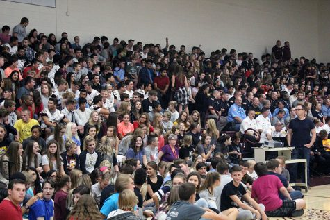 9/11 assembly honors first responders and informs students