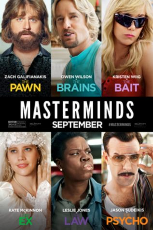"""Masterminds"" intertwines true story with comedic relief"