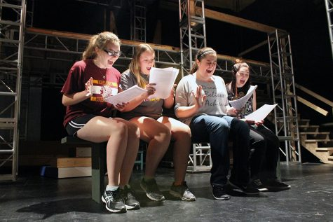 """Bye Bye Birdie"" Fall Musical rehearsal photos"