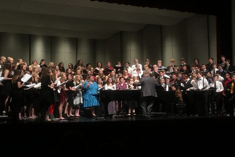 KMEA Honor Choir and Honor Band perform at district concert