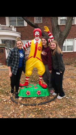 DECA helps at Ronald McDonald Charities for year 18