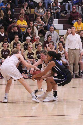 Girls basketball team falls to Liberal Redskins