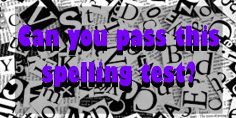 Can you pass this spelling test?