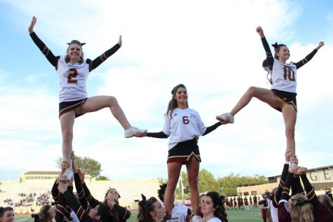 Senior Kaely McKinney pursues cheer at collegiate level