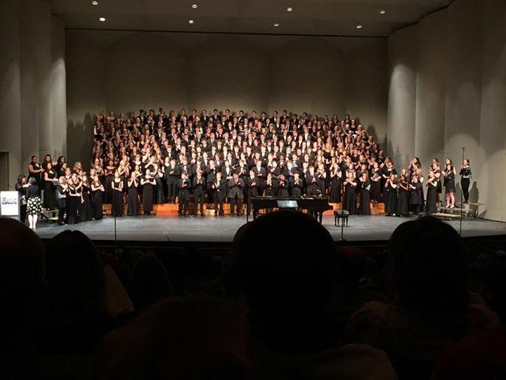 KMEA+All-State+Choir+performing.+