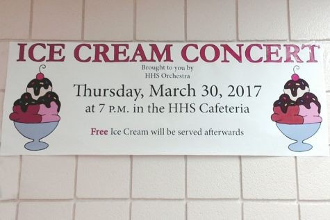 Ice Cream Concert allows for small orchestra concert