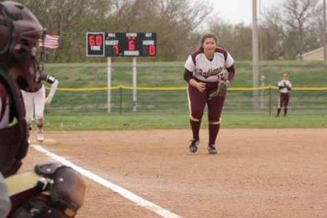 Indian Softball beats Colby Eagles at home on April 18