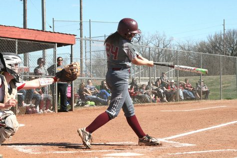 Indian softball falls to Red Demons at home