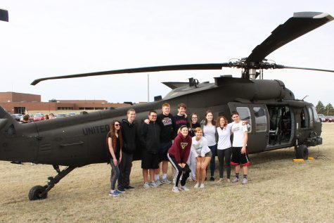 Blackhawks touch down at HHS