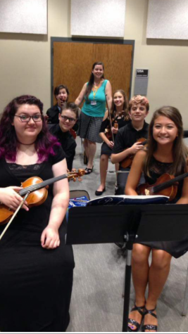 Students participate in music camps in Russell and at Fort Hays