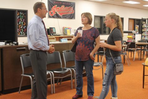 Open House allows for parents to experience students everyday life