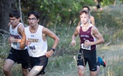 Cross Country team runs in home meet
