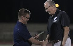 Coaches presented with track and field award