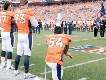 NFL kneeling controversy