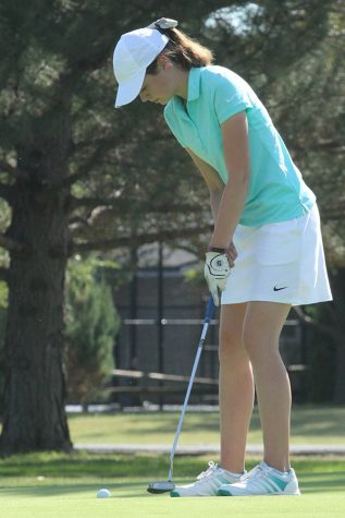 Girls Golf places second at Salina South in short tournament due to lightning