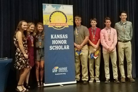Students honored at KU reception