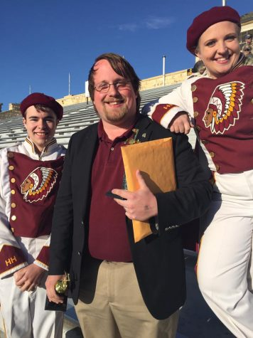 Marching band receives straight ones at High Plains