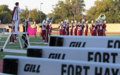 WAC Marching Festival held at Lewis Field