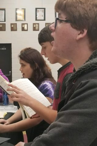 Students prepare for district and state auditions