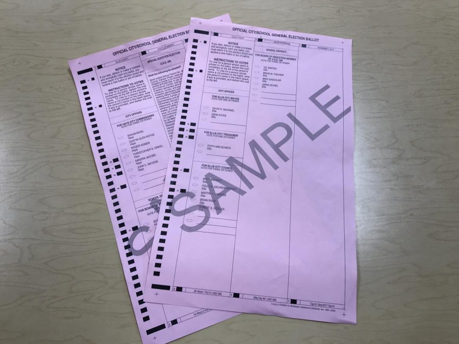 Fenwick+used+sample+ballots+as+demonstrations+for+her+students.+%0A%22Ask+adults+around+you+to+stay+updated+on+politics%2C%22+Fenwick+said.
