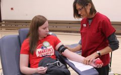 Students, teachers, community members donate blood to save lives