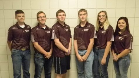 FFA Officers bond at K-State Football game