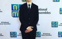 Junior Spencer Wittkorn attends ANHE