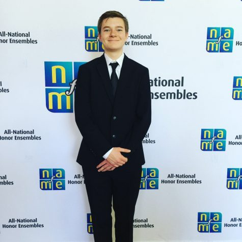 Junior Spencer Wittkorn attends ANHE