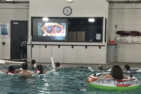 Center for Health Improvement hosts Dive In Movie