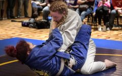 Junior competes in jujitsu tournament