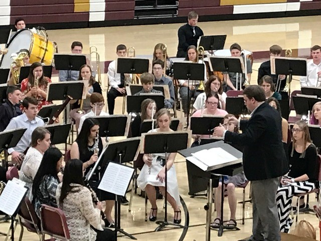 Band hosts annual popcorn concert