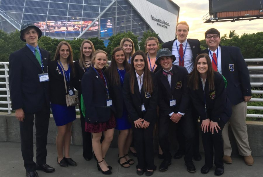 Juniors place in top 16 at International Career Development Conference